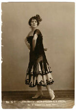 ORIGINAL POSTCARD RUSSIAN BALLET KRIEGER IN DON QUIXOTE
