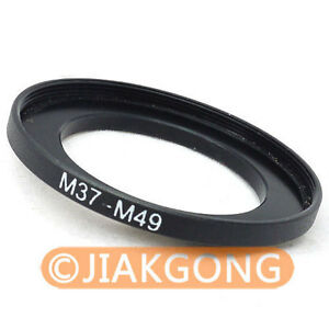 37mm-49mm 37-49 mm 37 to 49 Step Up Filter Ring Adapter