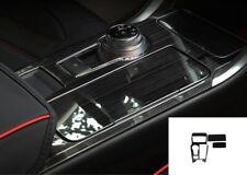 Black titanium Interior Gear Shift Frame Trim For Ford Fusion Mondeo 2017-2019