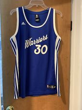 Adidas GOLDEN STATE WARRIORS Jersey Steph Curry Basketball NBA Womens XL XMAS