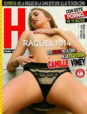 REVISTA H CAMILLE VINEY ENERO JANUARY 2018 H PARA HOMBRES MEXICAN MAGAZINE