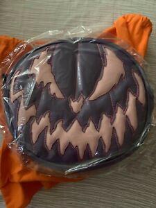 Love Pain & Stitches Handcrafted Purple & Pink Eggplant Bad Company Pumpkin Bag