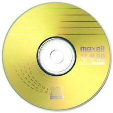 Maxell CD-R 80 Min XL-II Digital audio enregistrables vierges disques-Pack de 10 à Manches