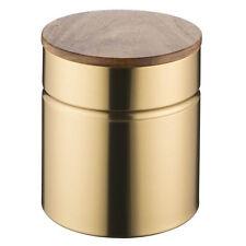 Typhoon Gold Kitchen Medium Storage Sugar Tea Coffee Canister Airtight Seal Lid
