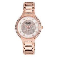 NEW $175 Badgley Mischka Swarovski Crystal Accented Rose Gold Watch