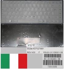 Tastiera Qwerty Italiana SONY VAIO VGN - N K070278B1 81-31105001-28 73311026