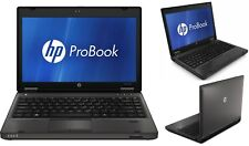 "HP ProBook 6360b i5-2450M 8GB Ram 500GB Hdd Webcam 13.3"" Windows 10 Pro Portátil"