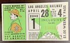 Los Angeles Railway Pass April 28 to May 4, 1935 Boy Scouts