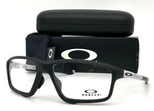 OAKLEY Crosslink Zero OX8080-0358 Matte Black/ Demo Lens 58mm Eyeglasses
