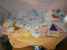 Vintage Handkerchief Bundle ~ Lacy & Many More  1960's ~ onwards ~ 37 in Total