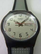 SUJB 703 SWATCH - 2007 Jelly in Jelly Gris Relief Date & Day swiss made authentic