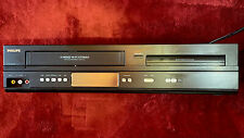 Phillips VHS/DVD Player DVP3345VB/F7 A -- Tested and Working.