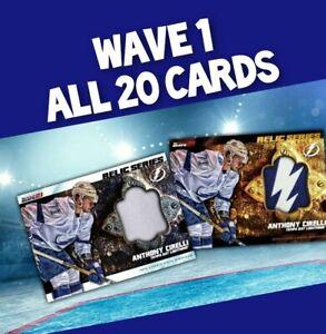 TOPPS SKATE 2021 Relic Marathon, Wave 1 base & gold, 20-Card SET Presale,Cirelli