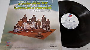THE NEW CREATIONS - Pass It On PRIVATE 1974 XIAN Folk Rock Christian (LP) NM/EX