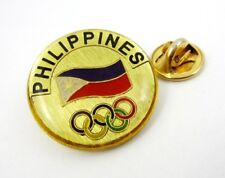 2016 Rio Olympics Philippines  (NOC) Olympic Committee Pin Badge