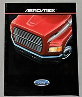 ORIGINAL 1988 FORD AEROMAX CLASS 8 HEAVY TRUCK BROCHURE ~ 16 PAGES ~ 88FAERO