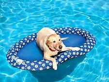 Large Dog Swimming Pool Lake Floating Inflatable Blowup Raft Toy Tube Water Toy