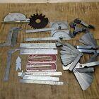 Vintage USA Machinist Measuring Tool Lot Starrett Brown & Sharpe Craftsman...