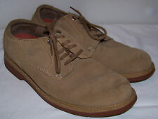 Men's Sperry Top-Sider Tan Beige Suede Casual Oxford Shoes Size 10 M
