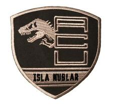 Jurassic Park ACU Isla Nublar Security Division Shield Patch [Iron on-JU5]