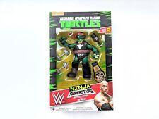 Teenage Mutant Ninja Turtles WWE Superstars Series 2 Raphael as The Rock WWE