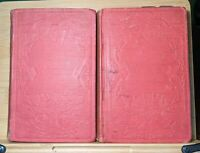 Charles Dickens - A Child's History Of England RARE 1ST U.S. ED. 2 Vols. 1853
