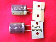 10 pcs   -  1000uf 35v 105c electrolytic capacitors