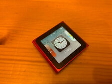 Apple Ipod Nano 6G 8GB Rojo (PRODUCT)RED