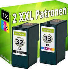 PATRONEN REFILL für LEXMARK 32+33 X5250 X5470 X7170 X7350 X8350 X3310 X3330