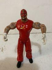 Rey Mysterio WWE Jakks 2003 Wrestling Red Action Figure Wrestler 619  WWF Toy