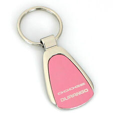 Dodge Durango Pink Tear Drop Metal Key Ring