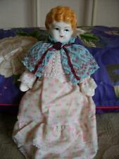 Old China Head Doll / Original Box ~ Shackman, New York