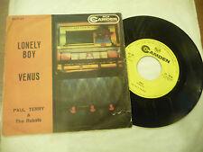 "PAUL TERRY&ROBOTS""LONELY BOY/VENUS-disco 45 giri RCA It 1959"""