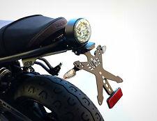 PORTATARGA YAMAHA XSR 700 XSR700 Y LINE + FRECCE LED + LUCE TARGA OMOLOGATO UB