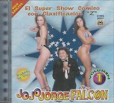 Jorge Falcon Vol 1 El super Show Comico Con Clasificacion CD New Nuevo Sealed