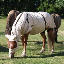 ELDORADO Ekzemerdecke - beige - 145 cm Pferdedecke Ekzemer Decke für Pferde