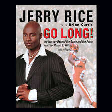 Go Long! by Jerry Rice 2007 Unabridged CD 9780786162819