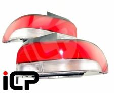 Genuine JDM STI Red & Clear Kouki Rear Lights Fits: Subaru Impreza Saloon 92-00