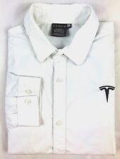 Original Tesla Motors Men's XL Long Sleeve Button Shirt Elon Musk Space X  EUC