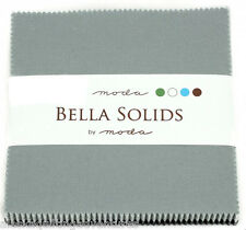 """Moda FABRIC Charm Pack ~ BELLA SOLIDS ~ MODERN ~ (9900PP 902) 40 - 5"""" squares"""