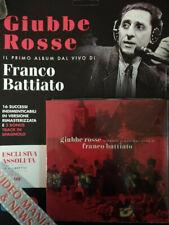 FRANCO BATTIATO GIUBBE ROSSE CD+LIBRETTO (16 BRANI+3 TRACK).SORRISI TV