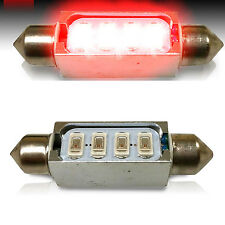 2x Red LED 5730 SMD Light Bulb 42MM Festoon Door Map Lamp  578 212-2 DE4410