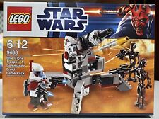 Star Wars Lego Set 9488 Elite Clone Trooper & Commando Droid Battle Pack
