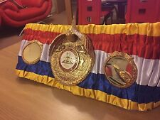 Exacto WBA Super Campeón cinturón de boxeo mejor regalo para un hombre-WBO, IBF, EBU