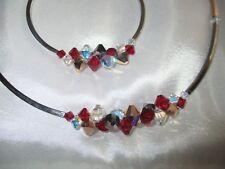 Set Halskette Kette Armband Coeur de Lion Top Collier Swarovski Elements 4653