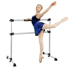 Ballet Barre 5FT Single Bar Freestanding BalletBarre Pine Steel Exercise Stretch