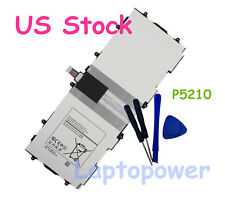 Galaxy Tab 3 10.1 GT-P5200 GT-P5210 GT-P5220 6800mAh/25.84Wh Battery For Samsung