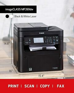 Canon Image CLASS MF269dw (2925C006) All-in-One Wireless Laser Printer + 1 Toner