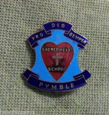 #D293. PYMBLE  SACRED  HEART  SCHOOL  LAPEL BADGE