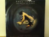 "PAUL   SIMON         12""   SINGLE,  THE  BOY  IN  THE  BUBBLE"